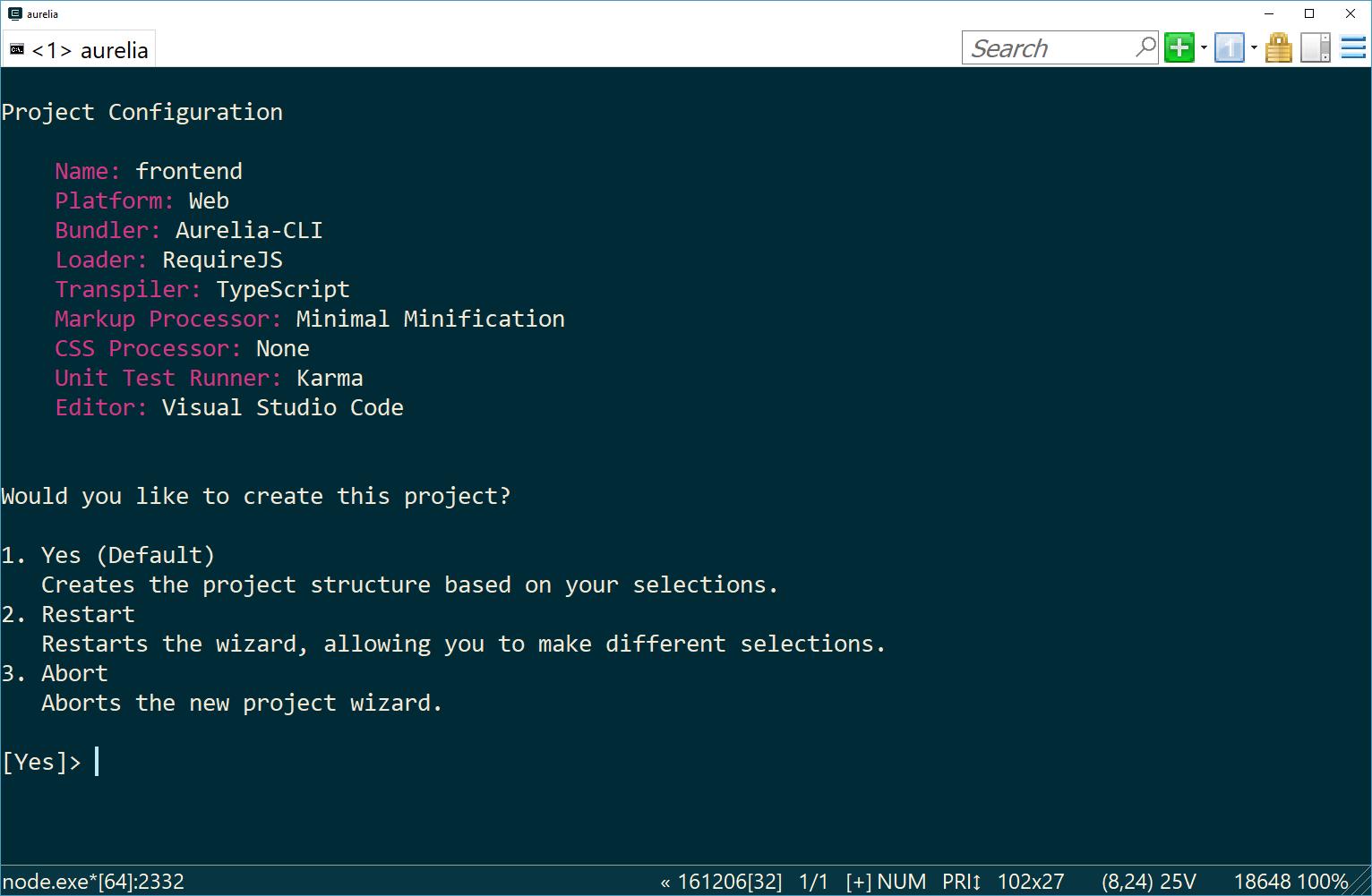 Secure an Aurelia Single Page App with Azure Active
