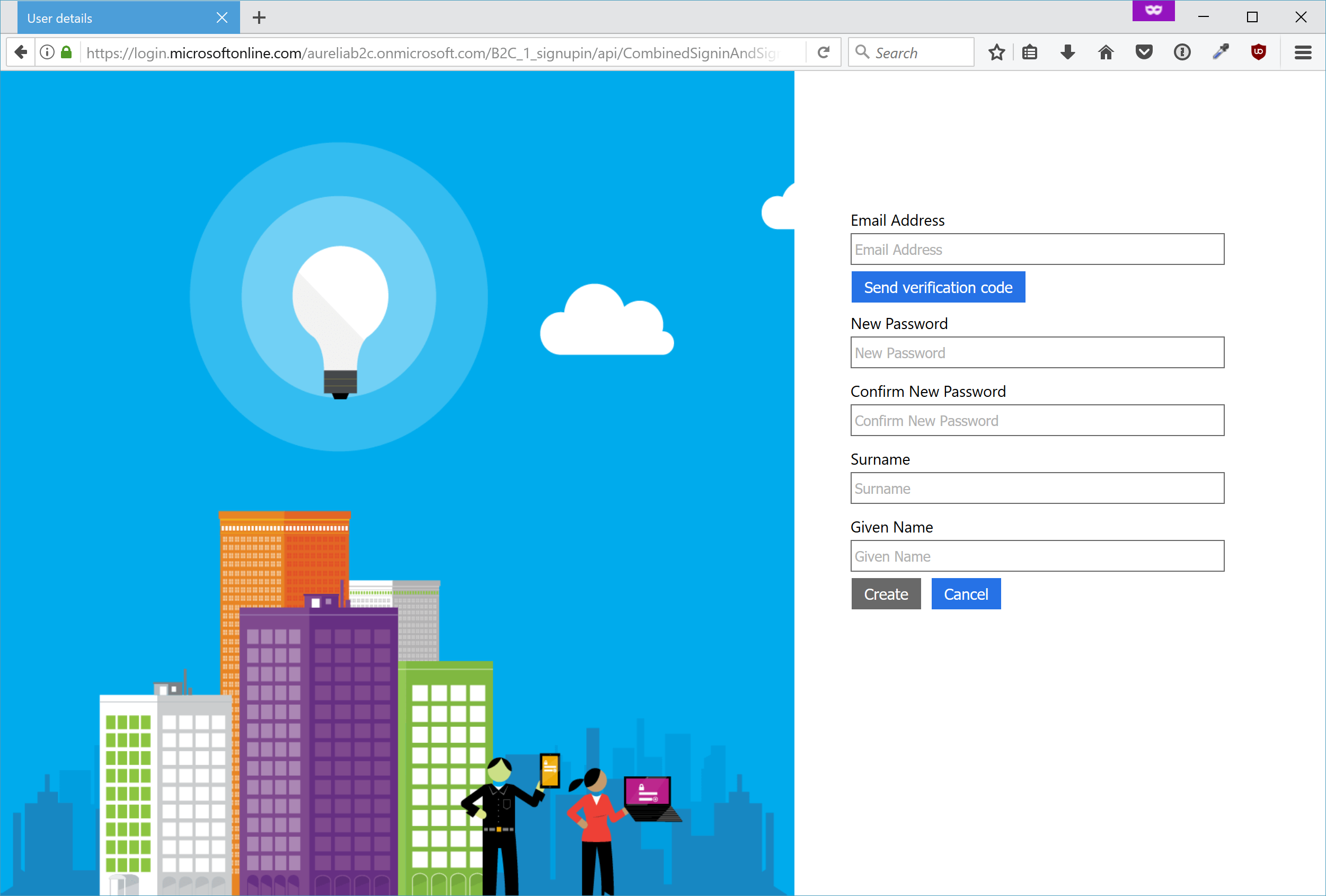 Secure an Aurelia Single Page App with Azure Active